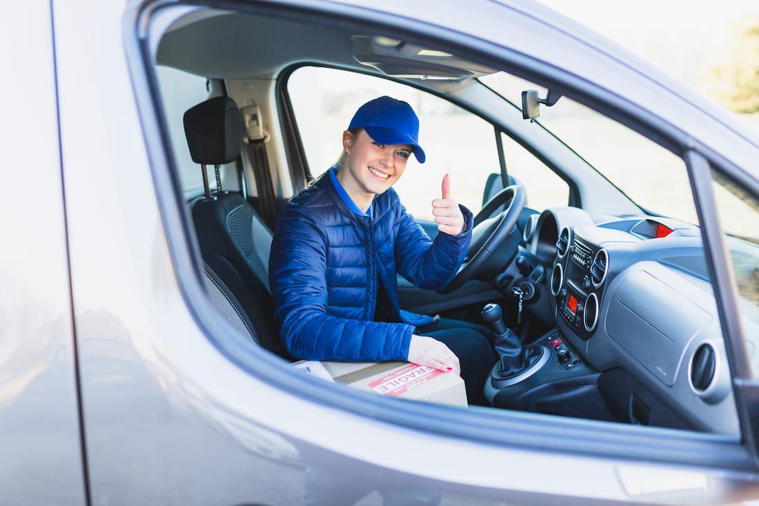conductora profesional